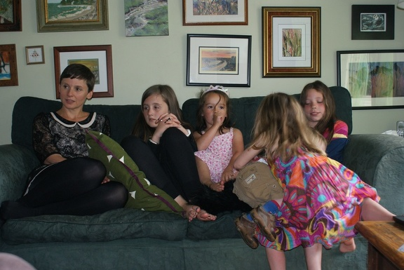 Ruth, Amber, Eleanor, Mia and Grace