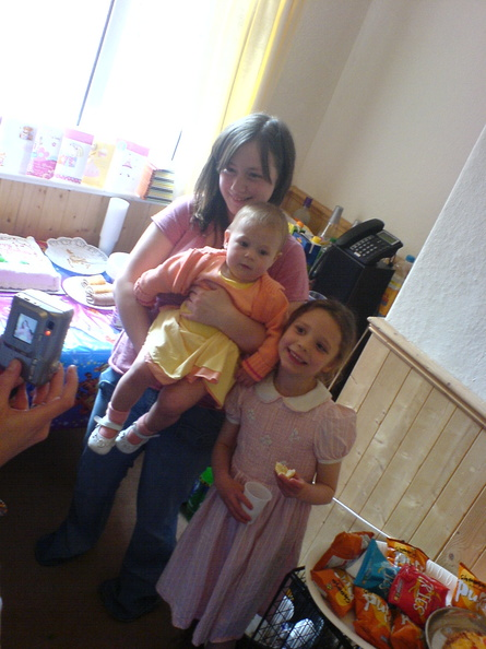 Kirsty, Mia and Grace