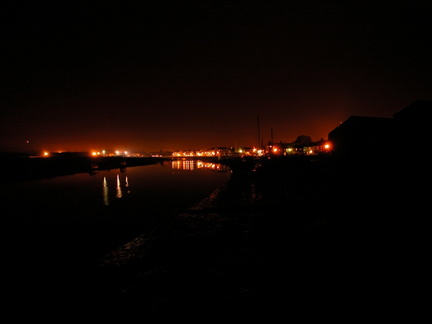 Wivenhoe at night
