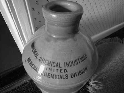 a chemical jar