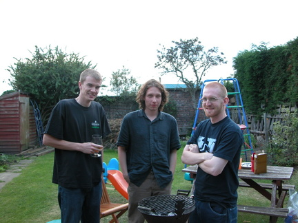 Harris, Rob and Smithy