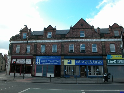 Heaton Road Branch, Registered Office 117 Newgate Street