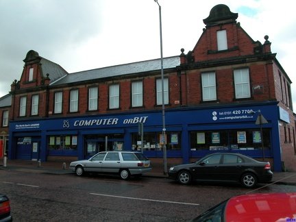 Co-Op building at 400 Old Durham Road in Gateshead