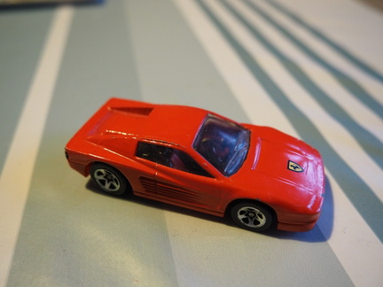 Hot Wheels Ferrari Testarossa