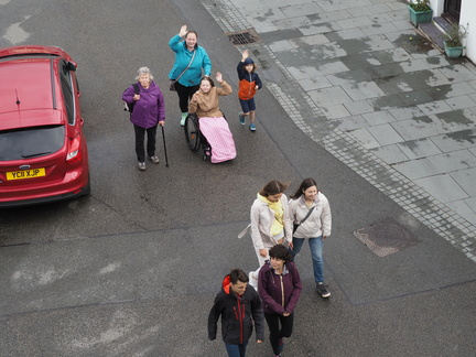 Celia, Kirsty, Mia, Jack, Isaac, Anna, Grace and Laura
