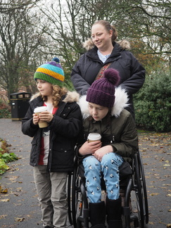 Isaac, Mia and Kirsty