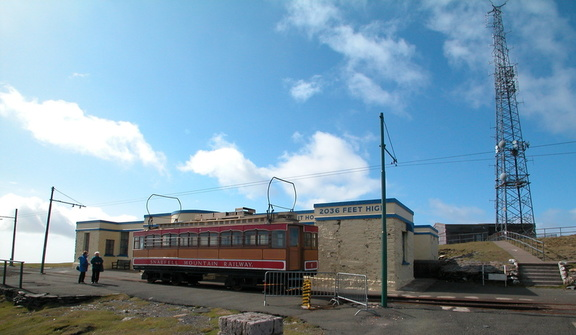 Station at the top of Snaefell